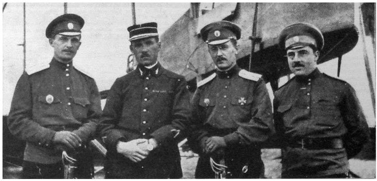 Российские военные летчики с французскими колегами